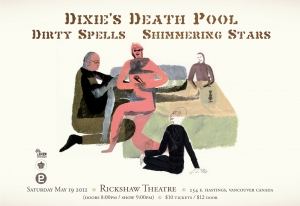 DIXIE'S DEATH POOL, SHIMMERING STARS and DIRTY SPELLS