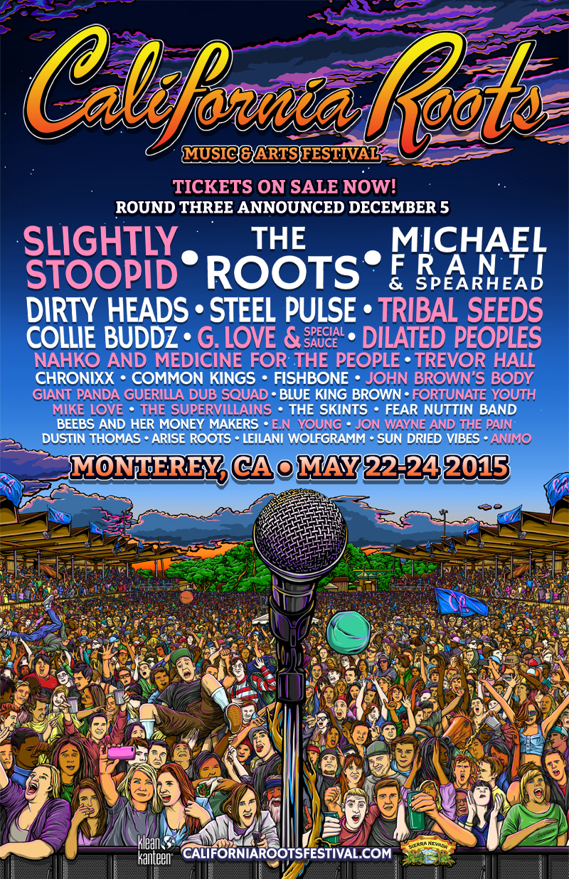 California Roots Musics & Arts Festival 2015