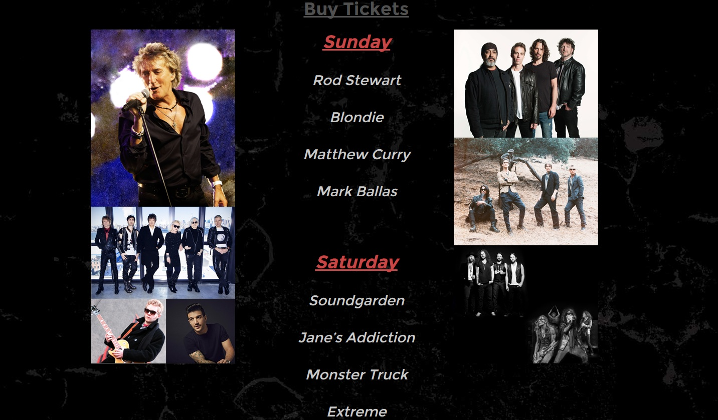 big music fest 2015 lineup