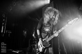 Troy Sanders of Mastodon @ Showbox SODO © Michael Ford