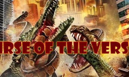 Mega Shark vs. gatoroid [2011] poster review podcast curse of the versus