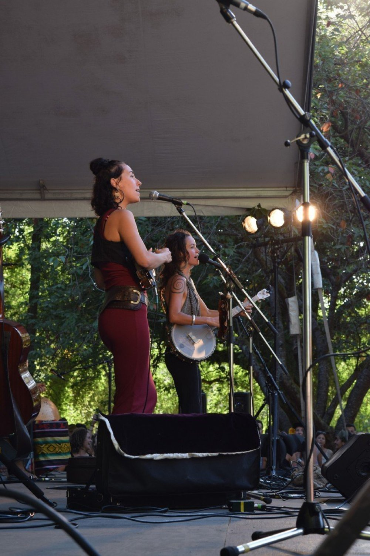 Rising Appalachia @ Vancouver Folk Festival © Hannah Siden