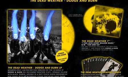 vault package 21 - dodge & burn album - the dead weather