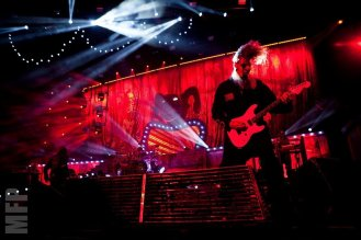 Jim Root of Slipknot @ White River Amphitheatre during Pain in the Grass © Michael Ford