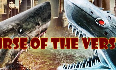 Mega Shark vs. Mecha Shark [2014] poster review podcast curse of the versus