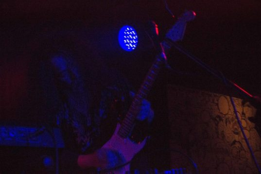 """AMT bandleader and guitar wizard Kawabata Makoto shreds his solo on """"Pink Lady Lemonade"""""""
