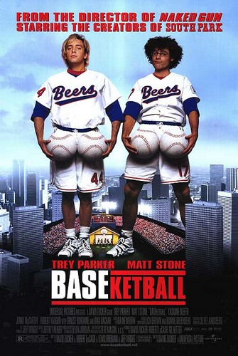 basektball 1998 movie poster