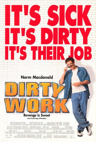 dirty work 1998 movie poster