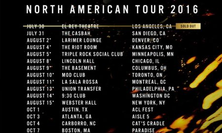 honne north american tour 2016 poster