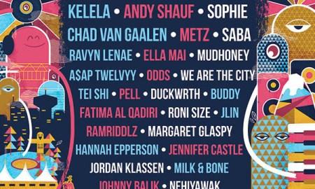 westward music festival 2018 lineup poster