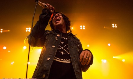 Kellin Quinn of Sleeping with Sirens at The Vogue Theatre in Vancouver, BC on February 6th, 2018