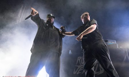 Killer Mike and El-P of Run The Jewels at Rogers Arena in Vancouver, BC on March 8th 2018