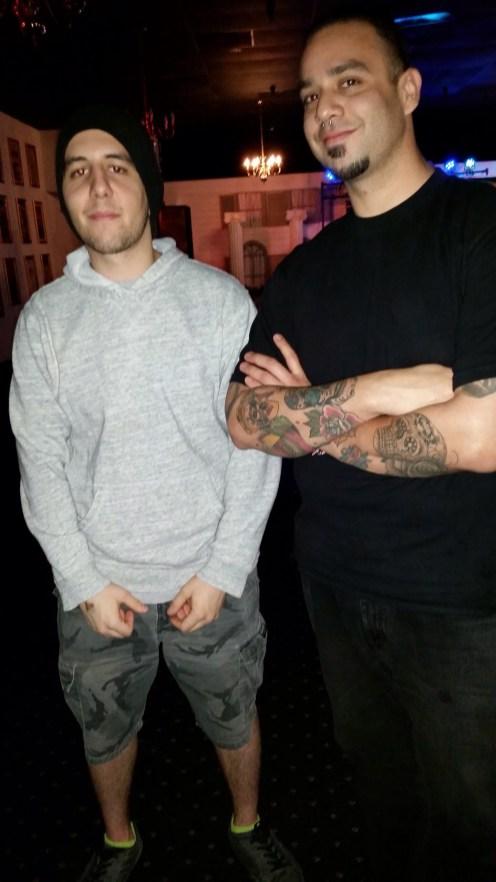 Dan Dominguez and Zack Perez