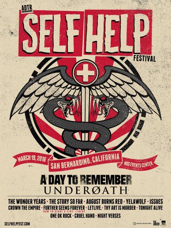 Self Help Fest 2016 - Poster