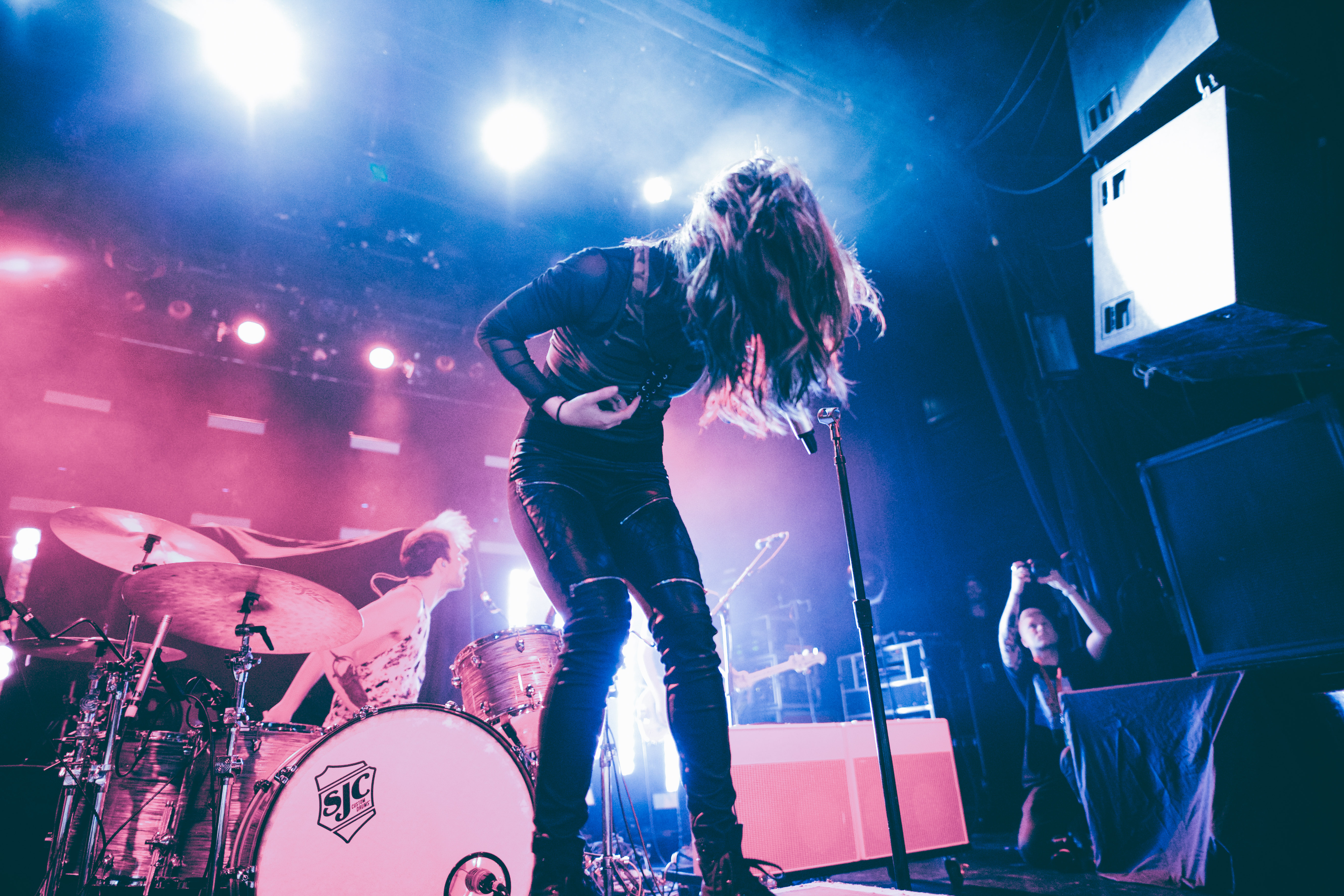 Chrissy Costanza of Against the Current. Photo by Jordyn Beschel.
