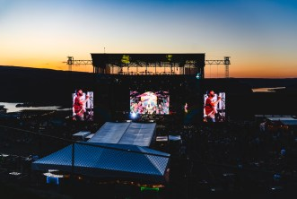 The Shins at Sunset