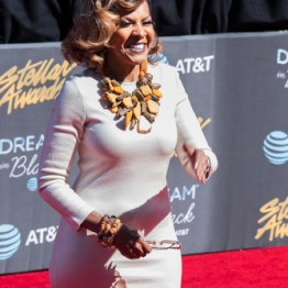 Teresa Harriston at the 34th Stellar Awards held at Orleans Arena, Las Vegas on March 29, 2019 in Las Vegas, NV, USA (Photo by: Mike Ware/Sipa USA)