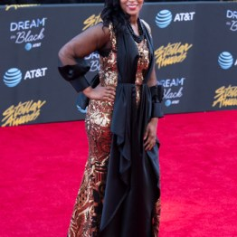 Mz. Tiffany at the 34th Stellar Awards held at Orleans Arena, Las Vegas on March 29, 2019 in Las Vegas, NV, USA (Photo by: Mike Ware/Sipa USA)