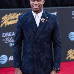 Kelontae Gavin at the 34th Stellar Awards held at Orleans Arena, Las Vegas on March 29, 2019 in Las Vegas, NV, USA (Photo by: Mike Ware/Sipa USA)