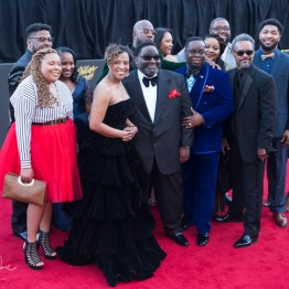 Isaiah D. Thomas & Elements of Praise at the 34th Stellar Awards held at Orleans Arena, Las Vegas on March 29, 2019 in Las Vegas, NV, USA (Photo by: Mike Ware/Sipa USA)