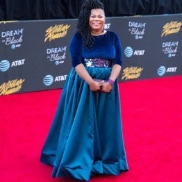 Miranda Curtis at the 34th Stellar Awards held at Orleans Arena, Las Vegas on March 29, 2019 in Las Vegas, NV, USA (Photo by: Mike Ware/Sipa USA)