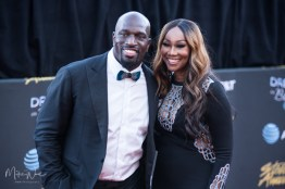 Yolanda Adams & Titus O'Neal at the 34th Stellar Awards held at Orleans Arena, Las Vegas on March 29, 2019 in Las Vegas, NV, USA (Photo by: Mike Ware/Sipa USA)