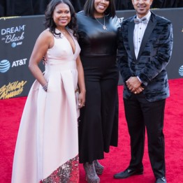 Kelly Price & Executive's from AT&T at the 34th Stellar Awards held at Orleans Arena, Las Vegas on March 29, 2019 in Las Vegas, NV, USA (Photo by: Mike Ware/Sipa USA)