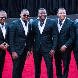 The Wardlow Brothers at the 34th Stellar Awards held at Orleans Arena, Las Vegas on March 29, 2019 in Las Vegas, NV, USA (Photo by: Mike Ware/Sipa USA)