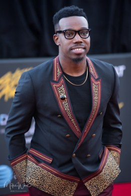 Jabari Johnson at the 34th Stellar Awards held at Orleans Arena, Las Vegas on March 29, 2019 in Las Vegas, NV, USA (Photo by: Mike Ware/Sipa USA)