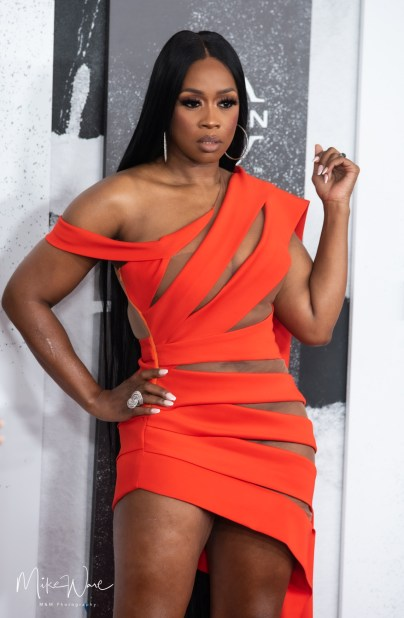 Remy Ma on the Red Carpet, 2021 BET Hip Hop Awards Atlanta, Ga. 10-1-21 (Photo By: Mike Ware/SIPA USA)