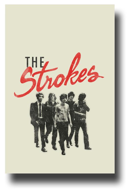 the strokes poster 2019 promo 11 x 17