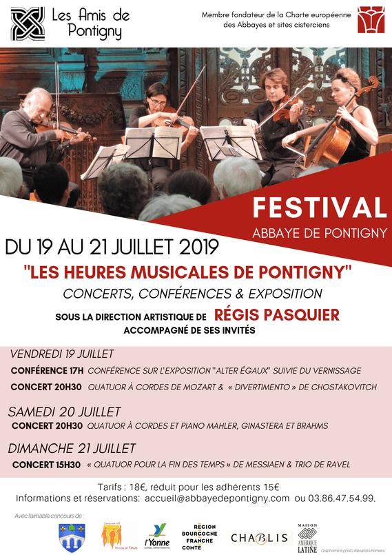 Les heures musicales de l'Abbaye de Pontigny, pianos Prévalet Musique
