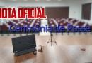 Cerimônia de posse dos Vereadores, Prefeito e Vice Prefeita, ocorrerá na Câmara Municipal sem a presença de público