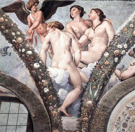 Cupido e le tre Grazie