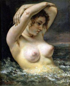 Femme à la vague