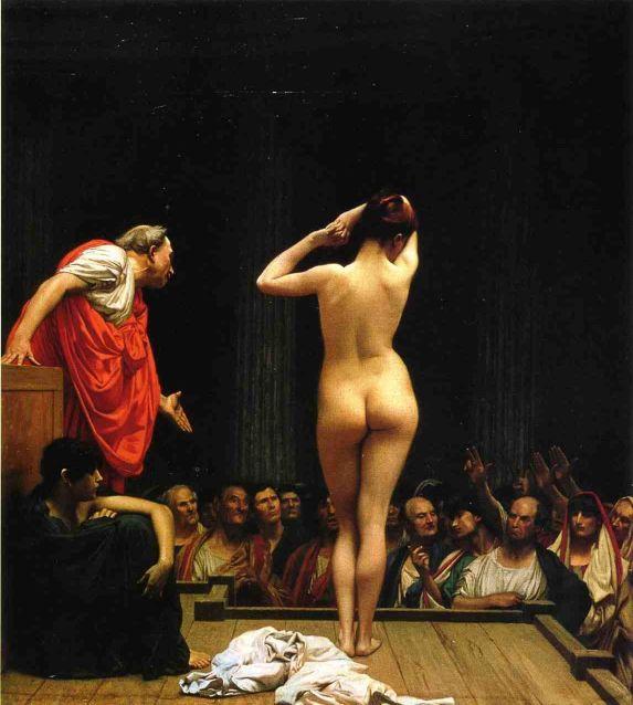 selling-slaves-in-rome