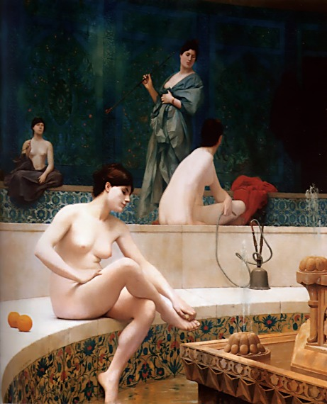the_harem_bath-woman-bathing-her-feet