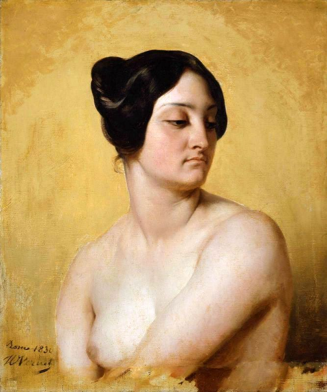 Study Of Olympe Pelissier as Judith