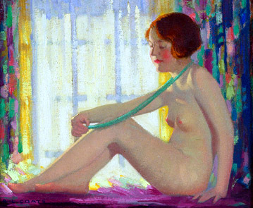 Nude By A Window