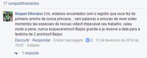 filmagem festa infantil Belo Horizonte
