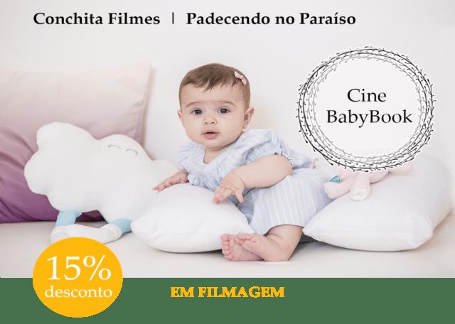 Padecendo paraíso filmagem familia criança Cinebook Cine babybook babyfilmes Conchita Filmes
