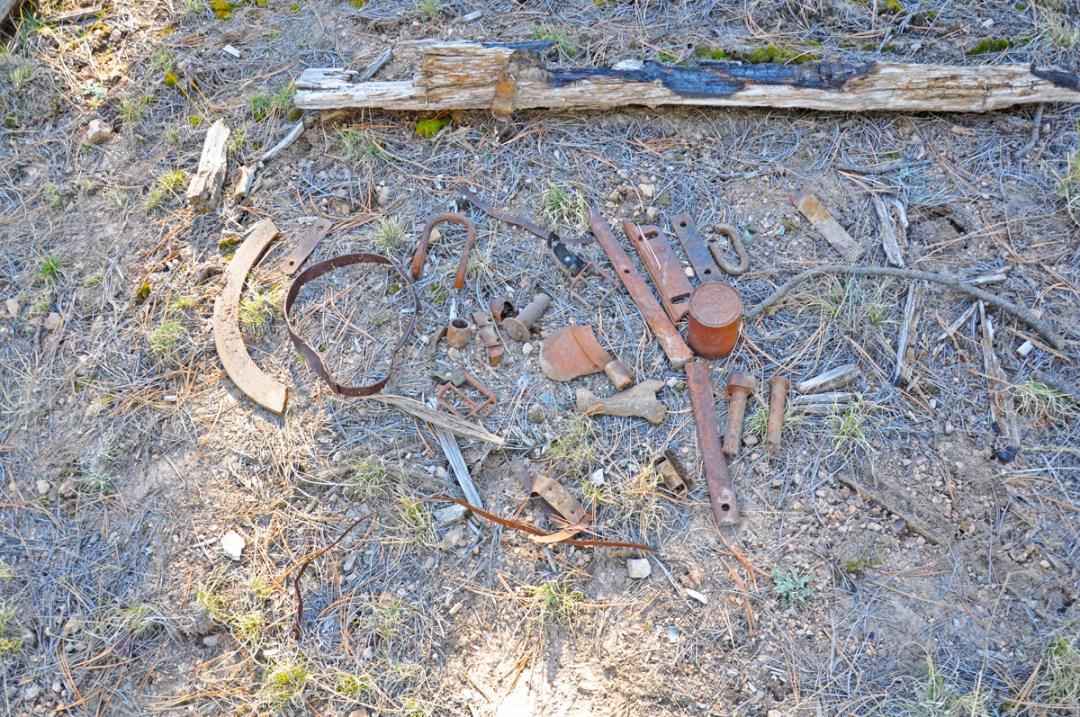 Image of Sawmill Iron Artifacts