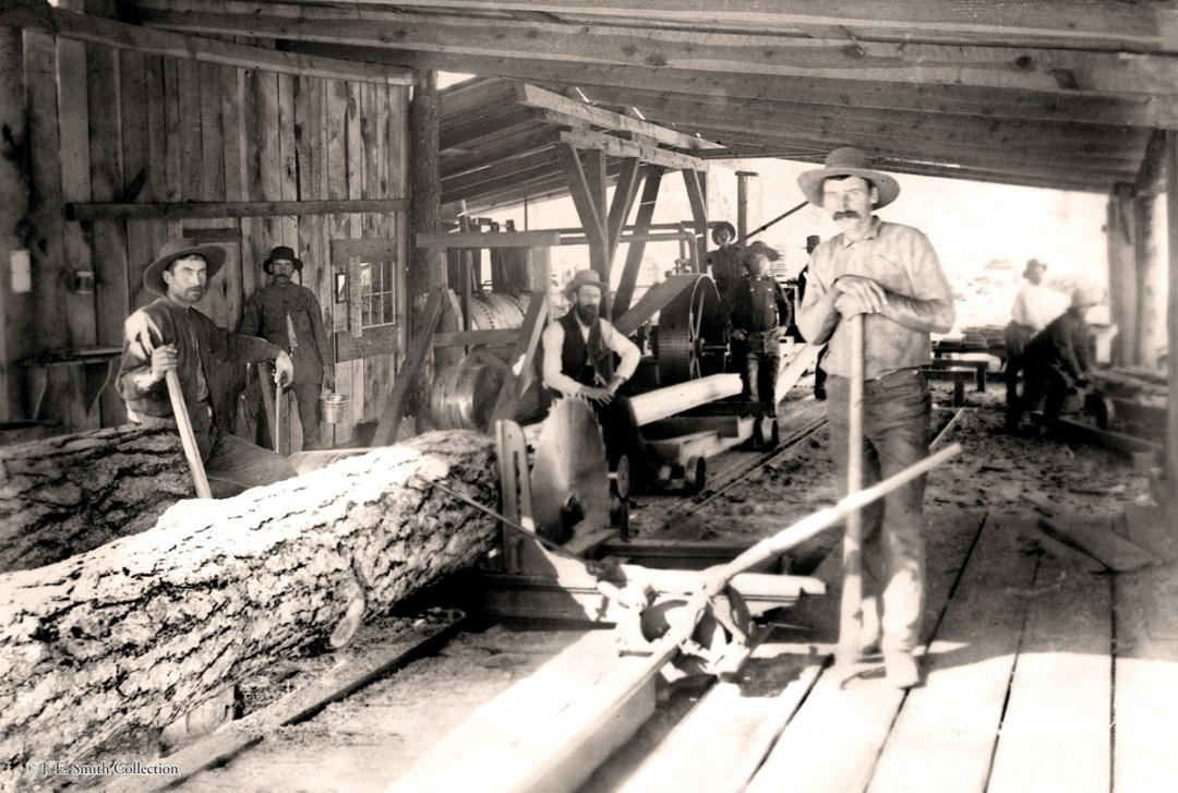 Photo of Steam Powered Sawmill