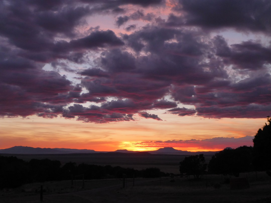 Sunset Across the Plains (click to enlarge)