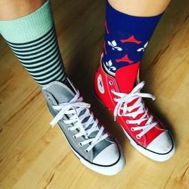 Converse, Happy Socks