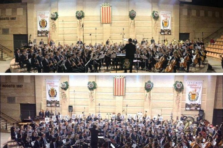 À Punt emitirá este jueves y viernes el concierto «Mano a Mano» de Buñol