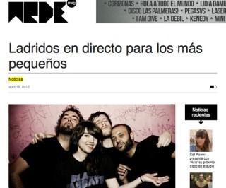 Conciertos Guau Guau - Prensa - Arde Mag