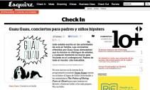 Conciertos Guau Guau - Prensa - Esquire