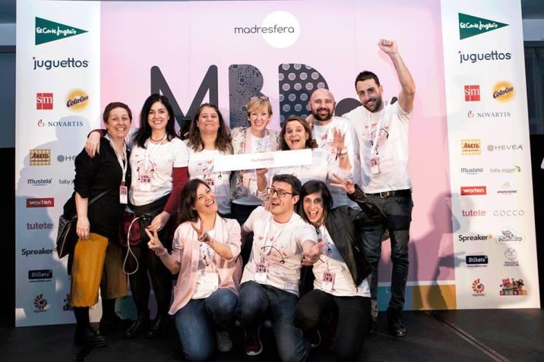 MBDay, foto del equipo Madresfera
