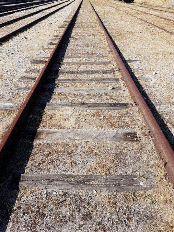 vias de tren para el post train spot en beira portugal